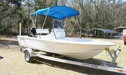 YOU ARE LOOKING AT A 2009 TIDEWATER 1800 WITH ONLY 5 HOURS ON THE 90 HP MERCURY ENGINE!!!!THIS BEAUTIFUL BOAT IS A PLEASURE TO RIDE IN!!!!THIS BOAT LOOKS LIKE IT JUST CAME OFF THE SHOWROOM FLOOR,AND THE PICTURES WILL SPEAK FOR THEMSELVES.THE BOAT HAS A