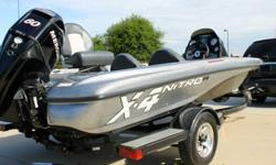 2009 NITRO X-4 COMPETITION SERIES WITH 60 HP FOUR STROKE AND TRAILER .BASS BOAT S CRAPIE BOAT FISHING LIKE TRITON TRACKER .2009 TRACKER MARINE NITRO X4 COMPETITION SERIES.2009 MERCURY FOUR STROKE FUEL INJECTED 60 .2009 TRACKER MARINE TRAILER.ALL THIS NO