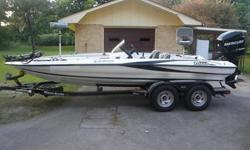 2009 Triton Explorer 19 bass boat with 200 Mercury Optimax. The motor has 12hrs on it and warrenty until 2016. Projacker Jackplate 10inch. Temptest Plus 26 pitch prop. Sea Star Hydrolic steering. Lowrance Electronics. HDS-5 GPS at the console and 135 at