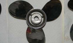 These are GENUINE Mercury props for mid-sized outboards