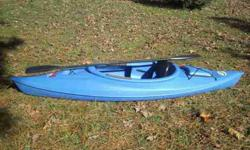 10' Water Quest Sit-in Deluxe Kayak with Adjustable Seat Color