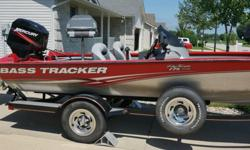 It is in good condition & ready to go fishing. It has several up-grades, such as a 24 volt pro-175 motor-guide trolling motor{ 2 yrs. old} & 2 new batteries, a stainless steel prop, a 1 yr. old elite-7 lowrance depth finder, a 2 yr. old cover, & 2 tires