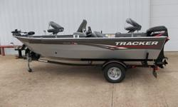 THE ONLY REASON THAT I AM SELLING IT IS BECAUSE I HAVE REPLACED IT WITH A LARGER BOAT. THIS BOAT HAS LOW HOURS AND USE. I HAVE NOT USED IT THIS SPRING. THE ENGINE IS A MERCURY 50 2 STROKE. THE ENGINE HAS TRIM AND TILT CONTROL BOTH ON THE ENGINE AND ON THE