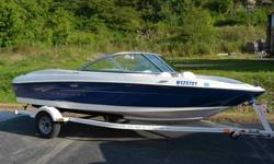 2010 Bayliner 175 with less than 50 hours. I purchased this boat last year from the original owner who only logged approximately 20 hours on it since new. I have only had the boat in the water 4 times since purchasing last year. Writing a description for