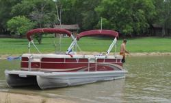 2010 Bennington Pontoon 2275 GLIPurchased New in March 2011 - used 4 boating seasonsOne owner, covered storage, excellent condition and super clean!Call or text if interested: Adrian at 214-394-8650$29,000-Double bimini top -Swim deck with ladder in