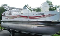 2010 Bentley Encore 20 ft. Fishing Boat, Includes life vests, trolling motor, removable table. Has live well and bait station. Seats 8. Belimi Top. Rod Holders. Very clean, well maintained. Winterized yearly by dealer and stored inside during winter.