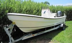 2010 BLUE SEA 22' (Panga style) , With a 2008 Yamaha 150 Four Stroke. Boat is the same exact mold as a Panga . If i were to put a Panga sticker on it you would'nt be able to tell the difference . Engine has a little over 40 hrs on it and she runs perfect