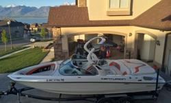 2010 Centurion Enzo SV230 in absolute immaculate condition with only 60hrs on the motor! Second owner, Garage kept, immaculate! $59,000 OBO. Call Timothy: 435-659-17560Features:Model: 2010 Centurion Enzo SV230Color: White Frost w/ Onyx black