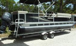 2010 Godfrey Marine Sweetwater 2486 coastal edition pontoon She is powered by 2010 Yamaha 75 HP 4 stroke that has just been major serviced including impeller, lower unit oil etc. The motor is still under transferable factory Yamaha warranty until