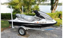 Purchased new in 2010. Never in salt water. R&D ride plate, Worx sponsons. Upgraded intake and exhaust systems. The motor and pump are stock. New tires. New battery. Only 39 hours of running time. This ski is 100% ready to go. Fresh oil and fuel. Custom
