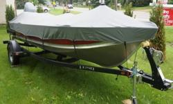 It's practicaly brand new still waiting to be broken in. This boat can fit in just about any body of water from a pond to a lake. If you are looking for a boat that won't let you down you have defiantly found it. This Lund WC-16 DLX (Deluxe) comes fully