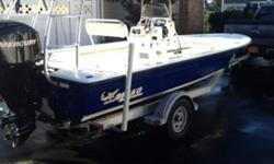 This boat is perfect for all inshore waters and has only been used on the Long Island Sound and has been fresh water flushed after each and EVERY use! Maintained in indoor storage each winter and comes with a Custom canvas cover THE BOAT INCLUDES THE