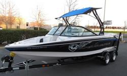 2010 Nautique 210 Ski/wakeboarding boat in excellent condition! This boat has a PCM 343HP V8 motor with only 74 hours, 3 ballast tanks, perfect pass, bimini, four tower speakers, whole boat cover and much more. This model is one of the most popular among
