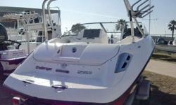 This is a very clean and nice jet powered boat by Sea-Doo and is equipped for wake boarding with tower arch and tow spindle. Power is 225 Rotax marine jet for enhanced performance especially for wake boarding. Ready to go wake boarding today. Once you see