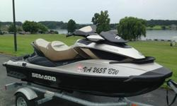The watercraft has been used very little with only 62 hours. It comes with a Sea Doo trailer with less than 500 miles. Also a cover with no rips or tears and a Wake Board Rack. This watercraft has very little boat rash and has been kept in a heated