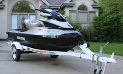 ***The Ski Has Intelligent Suspension and Ultra Plush Touring Seat - Feels Like Cadillac On the Water ******Cruise Control, Depth Meter and Build In Tie Downs******260 Horse Power Will Surely Put a Smile on Your Face Every Time you Touch the