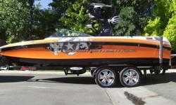 This beautiful 2010 orange and black 230 is looking for a new home. This clean 230 is loaded with options- Wet sound tower speakers with wet sound EQ and PA, 6.5 rotating tower speakers, 3 sound stream amps, 2 subs, dash tweeters, plug and play additional