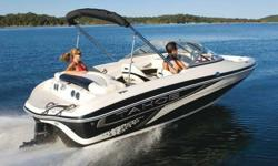 Tahoe Q5i Speedboat in Excellent Condition! INCLUDES TRAILER AND TUBE!! Great for some family fun or cruising. From stern to stem, this sporty bow rider packs more built-in luxuries and conveniences than any other boat in its size class. There is plush
