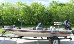 2010 TRACKER MARINE PRO 162010 MERCURY 30 HP FOUR STROKE2010 TRACKER MARINE TRAILERONLY 33 HOURSTHIS BOAT IS BEARLY USEDRUNS ABSOLUTELY PERFECTLOOKS GREATTROLLING MOTOR WORKS PERFECTDUAL BATTERY SETUPVERY ECONOMICAL ON FUELTHIS BOAT HAS THE MAX ENGINE HP