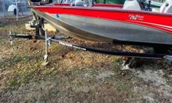 Great for lake fishing.She features a 2010 Mercury 60 ELPT EFI 4 stroke motor and trolling motor. Top speed of approximately 36 mph, with a comfortable cruise around 30 mph. Very low hours. Includes Lowrance X51 depth & fish finder. Live well and bait
