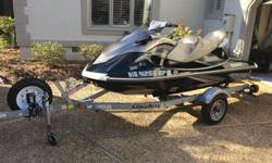 2010 vx cruiser waverunner 59.8 hrs in great shape base never seen salt water comes with trailer and spare tire holder and new tire also comes with new battery 2 tubes tow rope 6 life jackets ski cover battery charger anmd sump pump ski has never seen