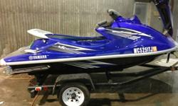 2010 Yamaha VX 1100 Deluxe. Engine is 1100cc 4 stroke 110 hp approx 70 hours. Overall good condition. This unit has reverse. The seat is shown in a separate photo and is included with the purchase. It is in perfect condition. There are a few light