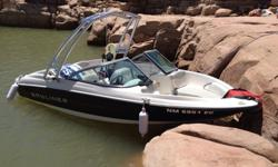 For sale is a beautiful 2011 Bayliner 175 runabout boat with less than 30-hrs total use. Boat has been stored in garage since purchased from Rocky Mountain RV & Marine when brand new, and been serviced and maintained meticulously after each trip to the