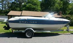 2011 Ski/Fish Bayliner 185 Boat 18FT Bowrider- PRICE REDUCEDWe purchased this boat in 2013 and have only taken it out a hand full of times. We had our first child almost 2 years ago and regret that we will have to sell this boat due to financial reasons