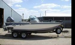 The boat has the following equipment MinnKota fortex 80lb thrust trolling motor,front & rear livewells,rear flip up jump seats,boarding ladder & platform,bimini sun top,rod locker,dry storage,on board battery charger,sea star hydaulic steering,trailer