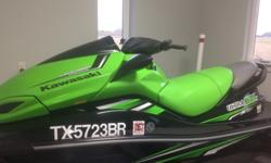 ,,,,,,,2011 Kawasaki JetSki 300X with 300HP supercharged engine. Very fast. Has extended factory warranty until 4/2017. Price includes very nice Yacht Club trailer and custom cover. Has only 28 hours on it and is in extremely good condition. Has 2 keys