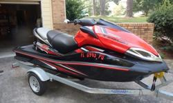 2011 ULTRA 300X 3 SEATER JET SKI WITH TRAILER AND WARRANTYJET SKI PURCHASED NEW WITH TRAILER IN 2014HAS 2 HOURSHAS 300HP FACTORYCOMES WITH FLUSH KITCOMES WITH A LIGHTWEIGHT GALVANIZED (RUST PROOF) TRAILERSTILL UNDER FACTORY WARRANTYNO SERVICE NEEDED UNTIL