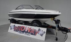 This one is dang near new condition! Previous owner says there is less than 50 hours on it! Way way less than buying a new boat!! comes with warranty. Ask about FREE delivery.We have the largest selection of very clean used Boats in the Northwest! Check