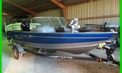 2011 Lund Impact 1775 17.8' Bass Fishing Boat with 2011 Shorelander Trailer. MinnKota Terrova Trolling Motor, 115 Mercury 4 Stroke Outboard.-Two Bank Minnkotta Charger-80# Ipilot On Slide Plate-HDS 5 w/Lake Insight-Two Deep Cycle Batteries-Two Extra Sport