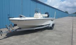 2011 MAKO 1901 INSORE - GREAT BOAT, APPROX 90HRS ON ENGINE. STORED INSIDE. READY FOR THE WATER, CENTER CONSOLE BAY BOAT ~ MERCURY 115 OUTBOARD, 4 STROKE ~ SS PROP ~2 LIVE WELLS ~ COOLER SEAT AT HELM WITH FLIP FLOP BACK REST ~ PLENTY OF STORAGE ROOM~