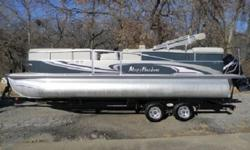 PACKAGE - Stainless staples on all upholstery, electrical wires protected, pontoons coated to assist in keeping pontoons from discoloration and zinc added to rear of pontoon.,** ( Installed Option ) Suzuki pre-rig with monitor gauge. ****THE POWER PLANT -