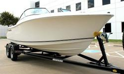 THIS IS A SOLID OFF AND INSHORE BOATFULLY LOADED NAUTIC STARENGINE COMPRESSION TESTED AND SERVICEDAPP. 150 HRSRUNS ABSOLUTELY PERFECTTILT TRIM WORK PERFECTBILDGE WORKSWASHOUT WORKS20 GALLON LIT LIVEWELL WORKSTRAILER IS BRAND NEW 2014 MODEL ZERO MILESWhen