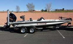 """-20' 11""""-250Yamaha 4stroke less than 300 hours-Removable dual console-2 minkota 8' talons-Lowrance HDS 8 with structure scan in console-Lowrance HDS 7 on bow-Lowrance NEMA 2000 network system-Lowrance Sonic hub with Sirius radio, mp3 docking station-Tilt"""