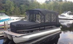 2011 Premier 225RF Ltd PTX36 pontoon- totally loaded, custom order boat. I purchased it last spring brand new, it has 82 fresh water hours on it and has full warranties in effect on the entire package. The list of options is too long to list! It is the RF