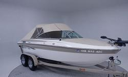 This is a great 2011 Reinell 198FNS Fish and Ski. The whole boat is virtually like new. Since it is a fish and ski it is designed to be multi-purpose, all of the pads in the front section and the pad on back come out to reveal a live well on one side and