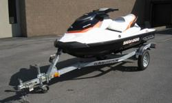 THIS MACHINE IS READY TO GO. 2011 SEA DOO GTI WITH ONLY ONE OWNER AND 8 HOURS. YES ONLY 8 HOURS. THE HOTTEST COLOR SCHEME. NICE BRIGHT WHITE AND ORANGE. BOAT IS IN GREAT SHAPE. JUST INSTALLED A NEW BATTERY TO ENSURE GREAT FUN ALL SUMMER. COMES WITH A