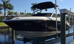 ,,2011 Sea Ray SLX Select Fission. This is a really cool boat that I just don't have time for hence only 8.5 hours on her. Fun boat with integrated swim platform, premium sound system and water sport tower. MerCruiser 350 Magnum MPI Bravo III DTS Engine.