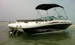 Maybe you and your neighbour can go halves? Either way this 2011 model SeaRay has you covered with its 4.3L MPI 220 hp Alpha. Whether you're a skier/wakeboarder or just love being on the water with your mates, this package comes complete with safety gear,