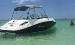 This 2011 Sea-Doo Challenger has low hours, is in very good condition for the year model and offers meticulous use of space giving it the feel of a 20-footer.The compact Rotax 4-Tec engine is powerful and fuel efficient offering 215 H.P. and a top speed