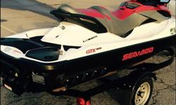 We are selling our 2011 GTX 215 supercharged sea doo. It has 105 hours on it and it has been serviced and inspected from Honda of Tulsa (oil change/new oil filter). It's easy to drive and has IBR (intelligent brake and reverse system). Includes trailer