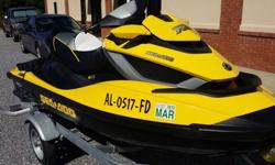 2011 SeaDoo RXT 260iS with trailer and only 30hrs on the machine. We never use the watercraft anymore. Just sits in storage and looking to pass it on to someone that will use the machine. We have taken very good care of this machine. Winterized every year