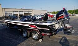 Mechanical features include:Yamaha VMax 225 Engine (225 hp).Dual Console.Blade Shallow Water Anchor.Jack Plate With Ladder.Hot Foot Acceleration.Minn Kota Frontex Trolling Motor with 101 lbs of Thrust and Foot Control.Motor Trim Switch.Fish FinderHELM AND