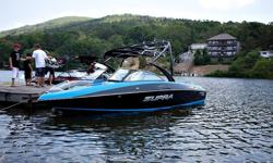 This is your chance to get the best 24 foot boat for the money. This boat has been professionally used to pull a major wakeboarding event such as Liquid Force's BroStock and used exclusively by Diamond Lakes WaterSports as our demo boat. The Supra 242 is