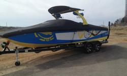 2011 Tige RZ4 fully loaded. Bimini top, 4 wet sound tower speakers, lighting, 343 HP engine, cruise control, 12'' sub woofer, two amps, two batteries, disconnect switch, tige touch screen controls, taps system, 2100 lb pro ballast system. TOO MANY OPTIONS