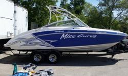 FRESH WATER BOAT NEVER BEEN IN SALT.THIS BOAT HAS ALWAYS BEEN STORED IN A HEATED WAREHOUSE DURING THE WINTER.Yamaha's all-new boats have several new major noteworthy design features. Perhaps the most important is the 72% increase in engine displacement,