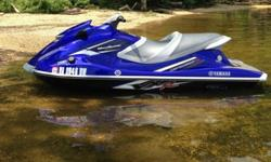 Waverunner specs- 1812cc, four-stroke Yamaha marine engine- 3 blade, stainless steel (15.6º pitch)- Length: 128.7?- Beam: 46.1?- Height: 45.7?- Fuel Capacity: 15.9 gallons, regular unleaded fuel- 3 Passenger Capacity- NanoXcel High-Compression Molded